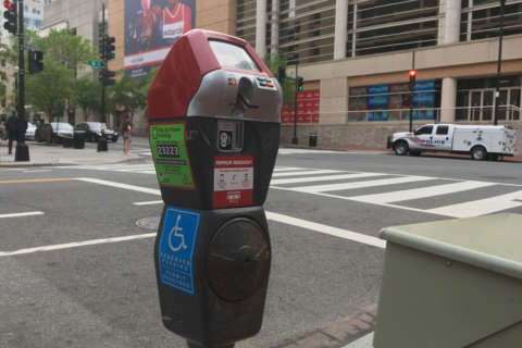 Red top meter rules to kick in for DC's central business district