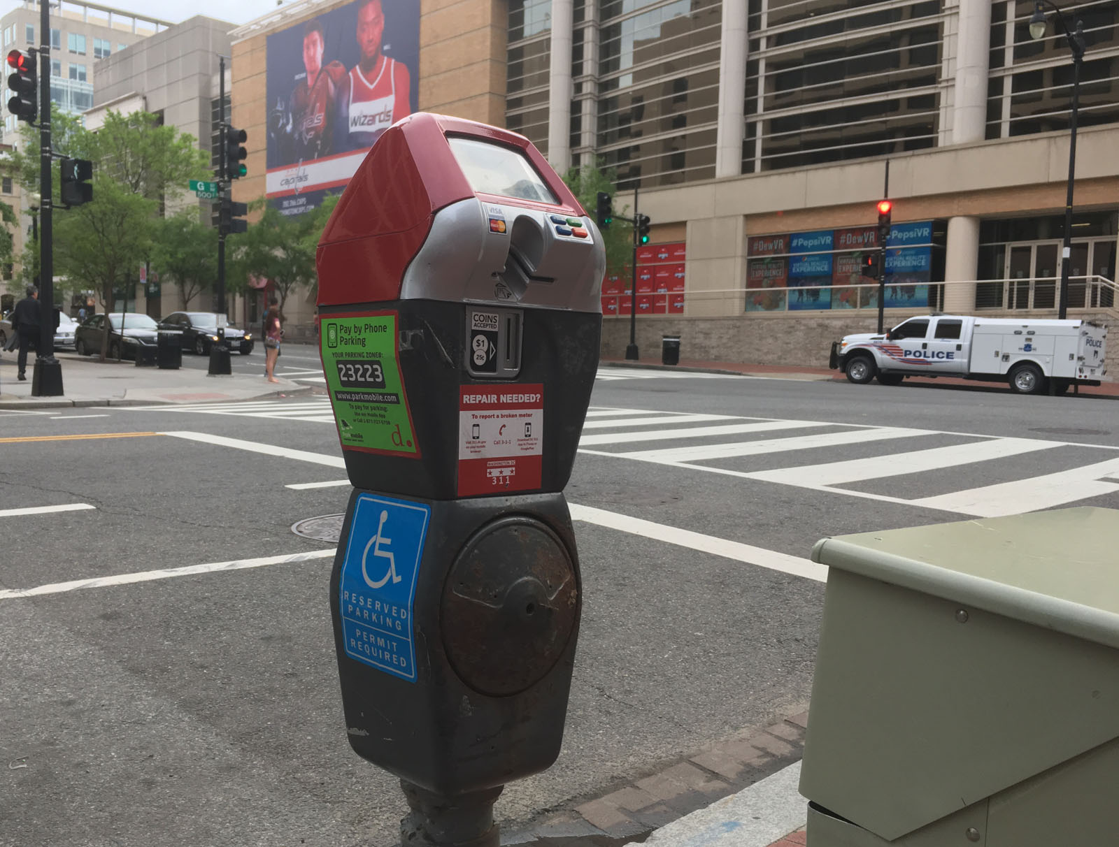 Red top meter rules to kick in for DC's central business ...