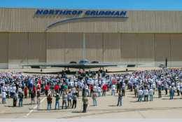 /On July 17, Northrop Grumman celebrated the 25th anniversary of first flight of the B-2 stealth bomber with a ceremony for employees, customers and elected officials at its Palmdale Aircraft Integration Center of Excellence in California. (GLOBE NEWSWIRE)/