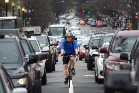 Surprising stats: How many people bike to work around DC and more
