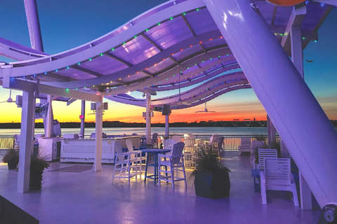 Sip and spin: National Harbor's Capital Wheel gets new outdoor lounge