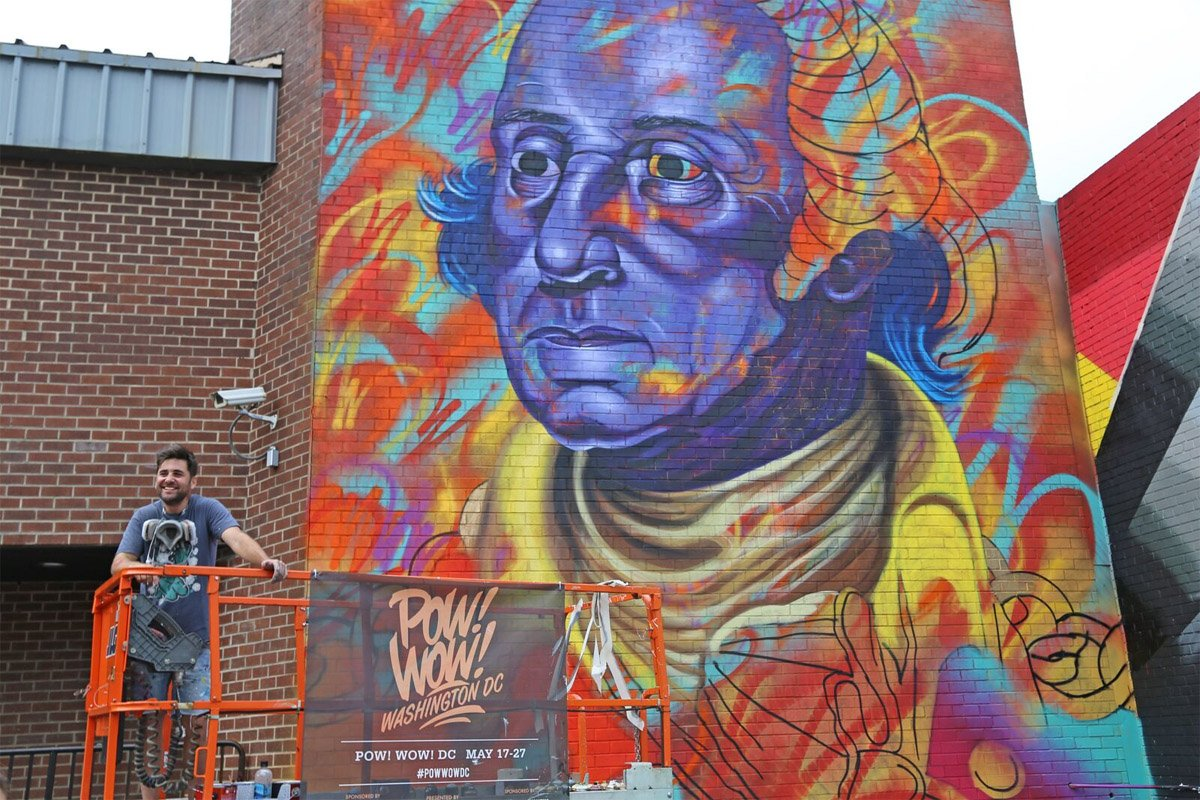 More noma buildings get murals during pow wow festival for Planning mural 2017