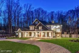 2. $4.5 million 7100 Benjamin St. McLean, Virginia This new build of nearly 10,000 square feet sits on a 1-acre flat lot and has six bedrooms, seven bathrooms and two half-baths. Features include a master bedroom with a private porch, a main-level bedroom suite and a library with 12-foot ceiling. (Photo courtesy MRIS, a Bright MLS)