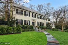 3. $3.625 million 4838 Rockwood Parkway NW Washington, D.C. This 1951 Colonial on Rockwood Parkway has six bedrooms, six bathrooms and a half-bath. It features entertaining rooms on the main level, a finished lower level and a back garden with terrace and pool. (Photo courtesy MRIS, a Bright MLS)