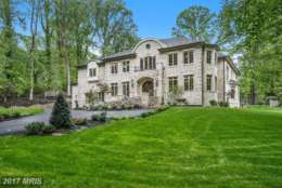 4. $3.4 million 6700 Lupine Lane McLean, Virginia This new build on a 1-acre lot has seven bedrooms, seven bathrooms and two half-bathrooms. Features include Shoenbek lighting fixtures, an elevator, a chef's kitchen with Wolf and Sub-Zero appliances, custom built-ins, a paneled library and marble countertops. (Photo courtesy MRIS, a Bright MLS)