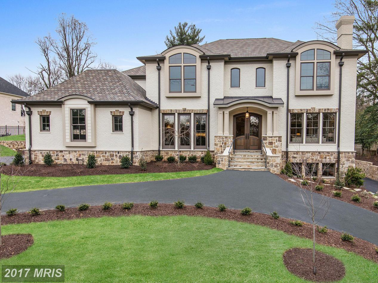 7. $3.15 million 1317 Kirby Road McLean, Virginia This 2016 home is another new construction and has six bedrooms, six full bathrooms and two half-bathrooms. Features in this custom home include a chef's kitchen, custom built-ins, a four-car garage, a two-story foyer with curved staircase, a wine cellar and a water feature. (Photo courtesy MRIS, a Bright MLS)