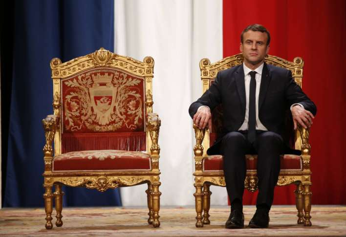 Macron unveils gender-balanced cabinet