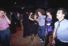 Dancers at Studio 54, the legendary New York disco, in 1978. (AP)