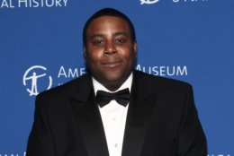 """Actor Kenan Thompson (""""Saturday Night Live,"""" `'Kenan and Kel"""") is 39 on May 10.  Kenan Thompson attends the American Museum of Natural History's Museum Gala on Thursday, Nov. 17, 2016, in New York. (Photo by Andy Kropa/Invision/AP)"""