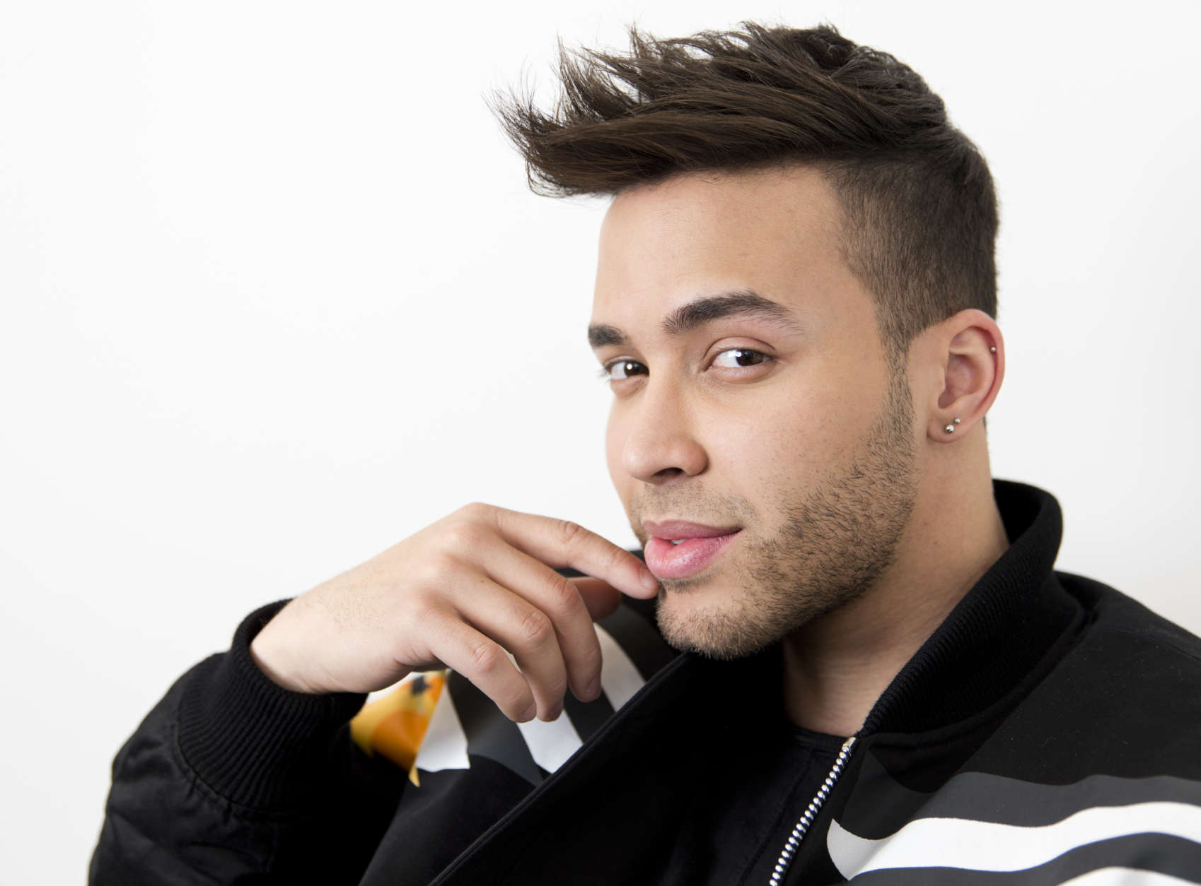 Singer Prince Royce is 28 on May 11.  Singer Prince Royce poses for a portrait on Monday, Feb. 27, 2017, in New York. (Photo by Brian Ach/Invision/AP)