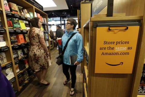 Amazon opening Georgetown bookstore