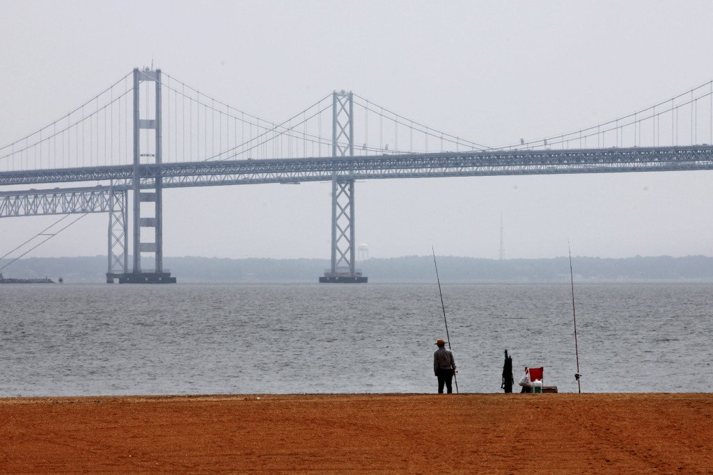 """The health of the Chesapeake Bay has just been assessed by the University of Maryland Center for Environmental Science, and the report card grade is a """"C."""" (AP Photo/Jacquelyn Martin, File)"""