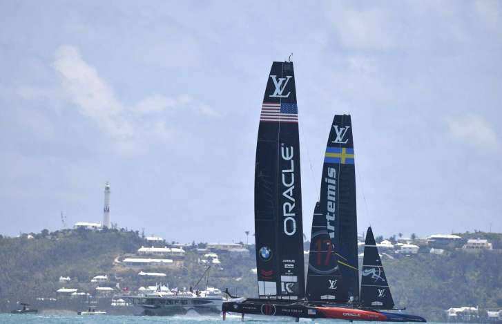 Ainslie shows impressive speed as America's Cup qualifiers begin