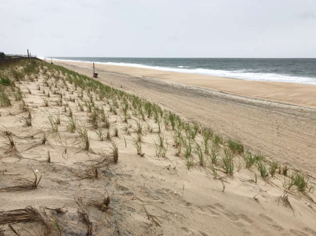 It S A Quiet But Windy Day On Bethany Beach Ahead Of The Busy Summer Season Is Considered By Locals One Quieter Communities Off Route