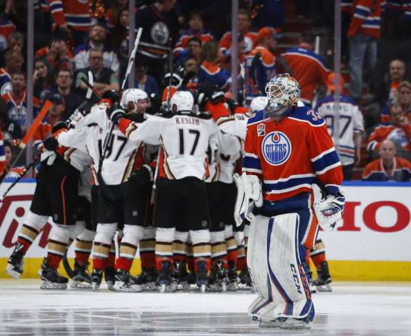 National Hockey League  roundup: Ducks storm back to beat Oilers