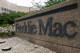 FILE - This July 13, 2008, file photo, shows the Freddie Mac headquarters in McLean, Va. Freddie Mac reports financial results on Tuesday, May 2, 2017. (AP Photo/Pablo Martinez Monsivais, File)