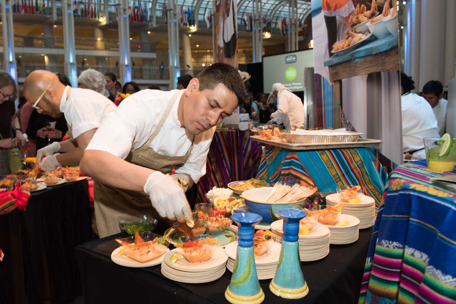 This year, the annual culinary showcase is bigger than ever, with nearly twice as many chefs battling for the title of best dish. (Courtesy Kea Taylor/Imagine Photography)