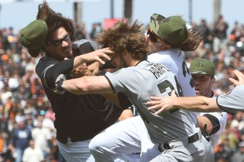 Real reason for the Harper-Strickland brawl? Maybe it's all about the hair