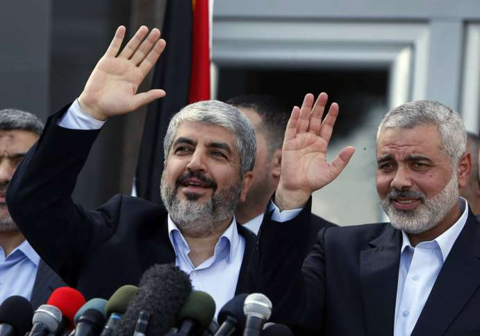 New Hamas document accepts Palestinian state with 1967 borders