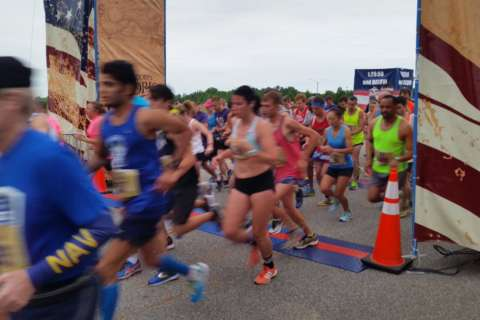 Marine Corps Historic Half challenges runners for 10th anniversary