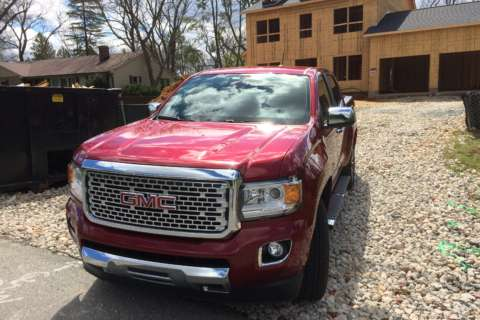 2017 GMC Canyon Denali: A tough truck in a smaller package