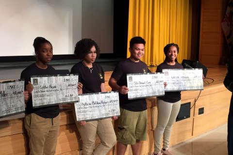 Oxon Hill High School treats graduating seniors like star athletes (Photos)