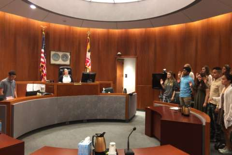 In Teen Court, young Md. offenders are judged by a jury of their peers
