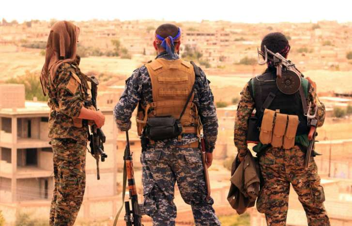 USA sends arms to Kurdish forces fighting IS in Syria