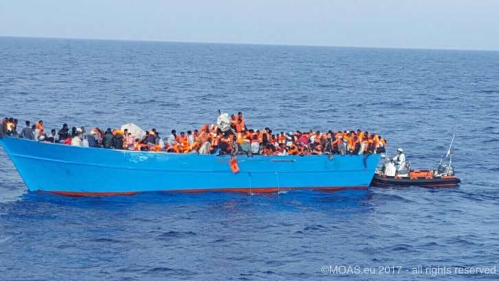 54 dead, some 10000 migrants rescued off Libya coast in 4 days