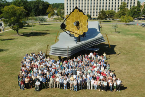 Excitement surrounds space telescope, Moon missions