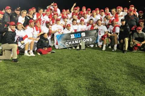 Maryland lacrosse teams take titles in 2017 Big Ten Tournament