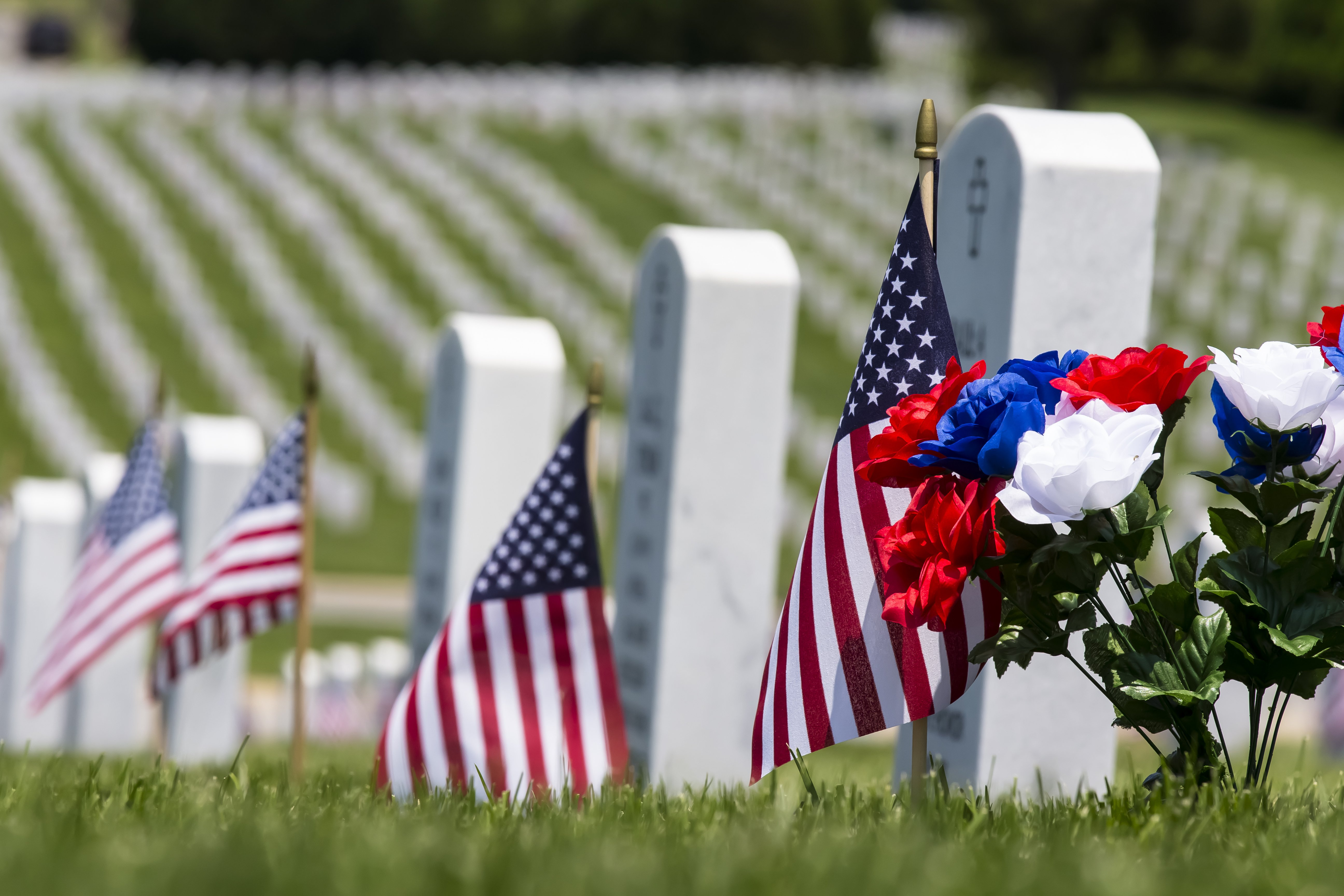 Military appreciation month remembering the fallen on for Decoration day