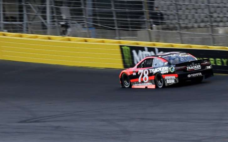 Family affair: Dillon brings iconic No. 3 to victory lane
