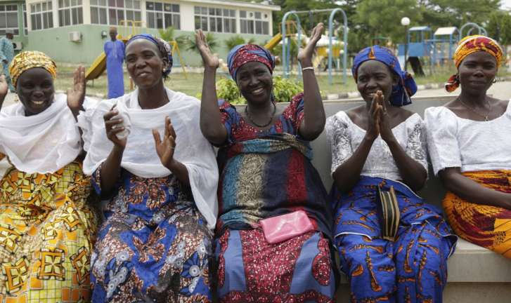Freed Nigerian schoolgirls to meet families after 3 years in captivity