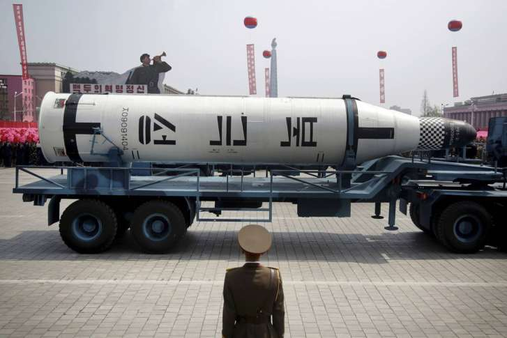 Wary Of North Korea, US Destroys Mock Warhead Over The Pacific
