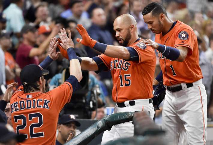 Springer, McCullers, Astros hand Orioles 7th loss in row 8-4