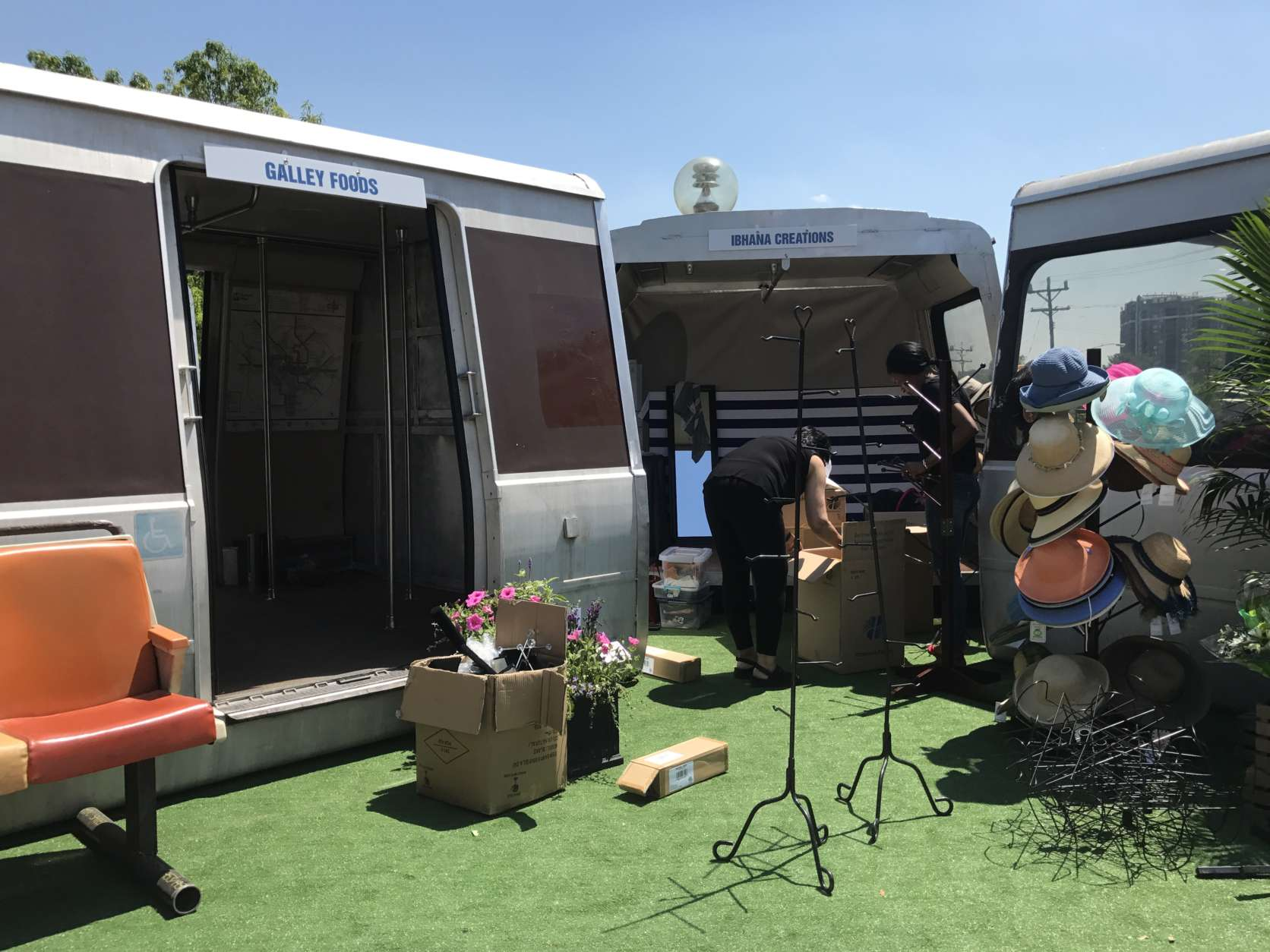 The vendors will set up shop every Wednesday, Thursday and Friday from 3:30 to 7:30 p.m. from May 17 to June 30. (Courtesy Fivesquares Development)