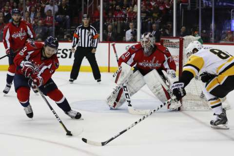 Capitals-Penguins Stanley Cup Playoff series (Photos)
