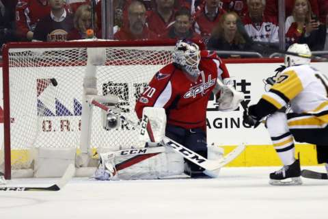Caps lose Game 7 to Pittsburgh, 2-0