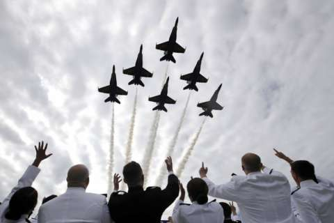 Navy Commissioning Week means Angels — and road closures