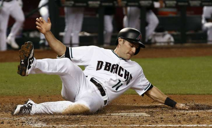 Dbacks' Iannetta has stitches in lip, fractured teeth, nose
