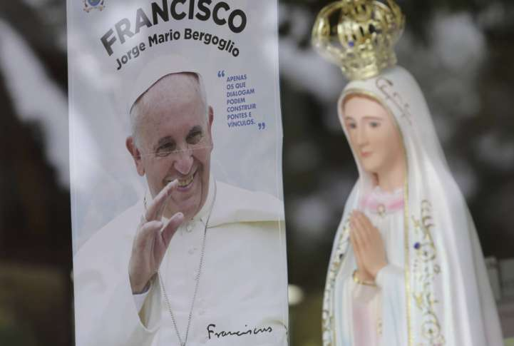Pope In Portugal To Canonize Siblings Who Saw Virgin Mary