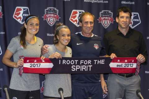 With Mallory Pugh signing, future of American women's soccer is in Washington