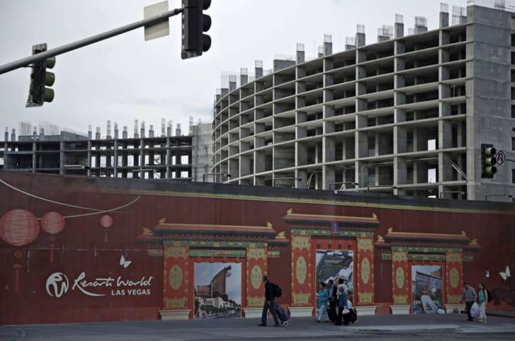 New Las Vegas casino-resort pushes opening date to 2020