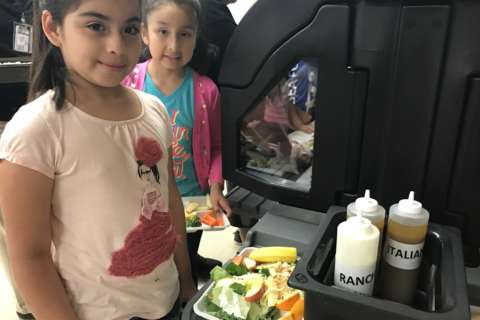 New addition to cafeterias gets local students excited for lunch