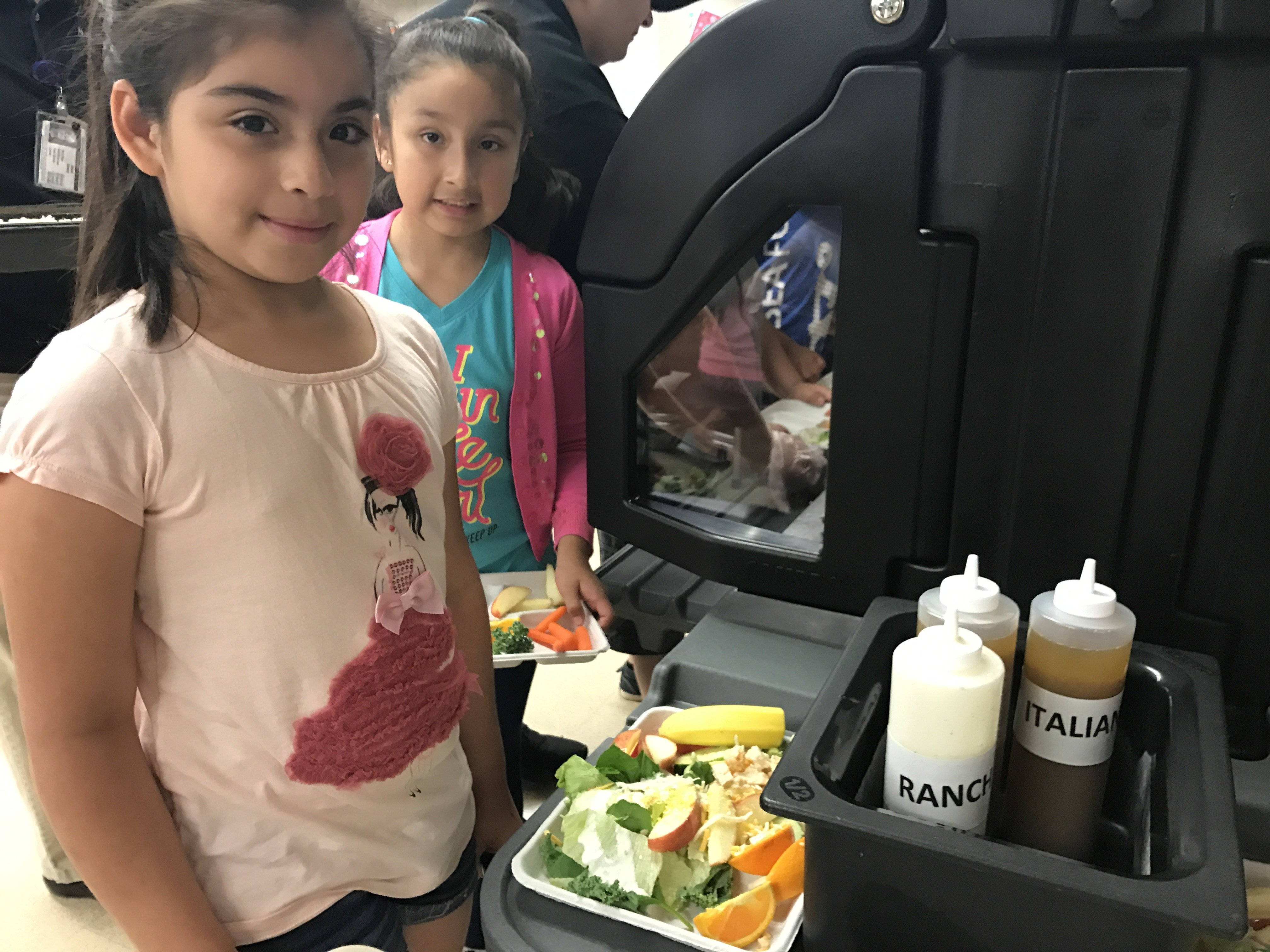 New addition to cafeterias gets local students excited for
