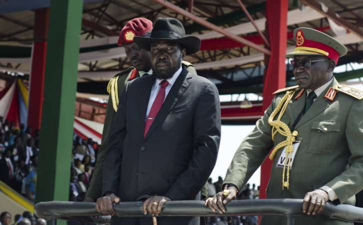President Salva Kiir Mayardit Fired Chief of Staff Gen. Paul Malong Awan