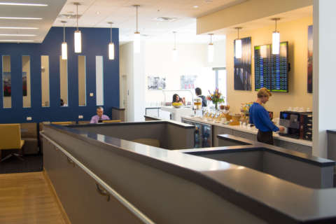 Not enough status for an airport lounge? Buy your way in at BWI Marshall