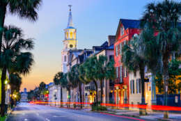 With its antebellum grandeur, historic churches and cobblestone streets, Charleston, South Carolina, is steepled and steeped in old-world charm.  (Thinkstock)