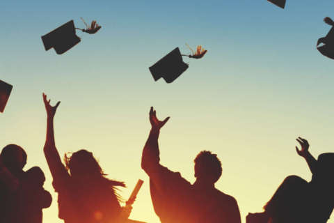 DC-area high school graduation dates, times and locations